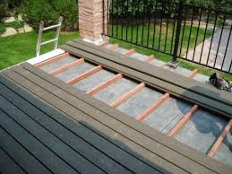 building a deck on a flat roof flat roof decking and roof deck