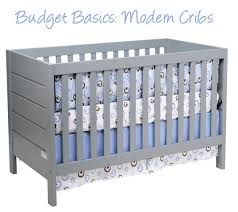 budget basics modern baby cribs apartment therapy