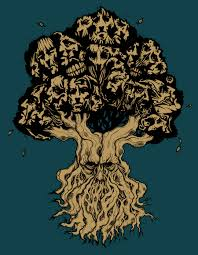 tree of faces tattoo v2 by burzum on deviantart