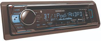 kenwood tractor kenwood am fm cd in dash kdc bt330u receiver with built in