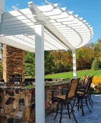 Outdoor Kitchen Furniture - outdoor kitchen pergolas by walpole woodworkers