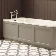 roper rhodes hampton front bath panel chalk white bp900 w drench
