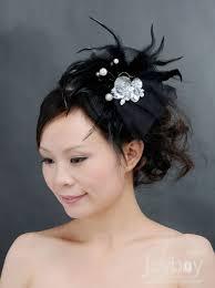 and black hair accessories black headpiece flower hair