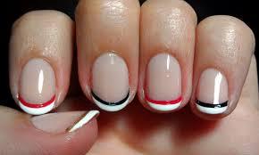 disney queen of hearts french manicure u2013 emi u0027s manis
