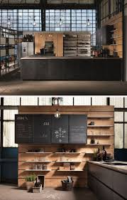 adorable halo and rounds concept for futuristic wide alley kitchen