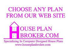 Custom Built House Plans Building U0026 Plans Home Blueprints Ebay