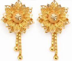 gold ear ring best of gold earring design images jewellry s website