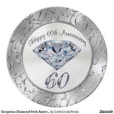 60th wedding anniversary plate white gold 50th golden wedding anniversary plate gold wedding