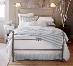 Pottery Barn Platform Bed Metal Pottery Barn Bed Frame Bed And Shower Popular Pottery Barn
