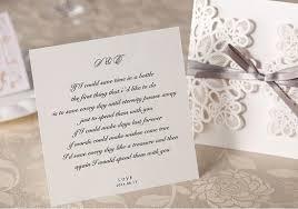 Sample Invitation Card For Wedding Amazon Com Wishmade 50x Square Laser Cut Wedding Invitations
