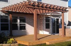 Aluminum Wood Patio by Pergola Plan For An Easy 16 20 Diy Solid Wood Pergola Or