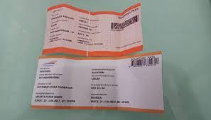 Tiket Kereta Api 12 Passengers Found Using Tickets At Senen Station