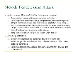 pola pattern adalah intrusion detection system ppt download