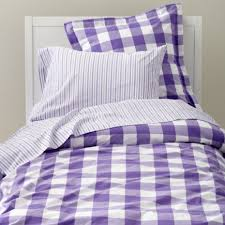Gingham Duvet Covers Girls Bedding Kids Room Decor