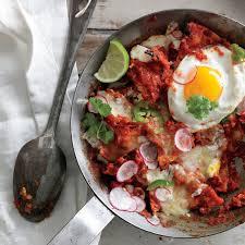 egg recipes for dinner chilaquiles with fried eggs recipe epicurious com
