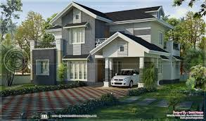kerala style sloped roof house design by green homes thiruvalla