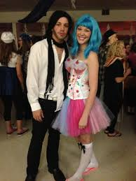 how to look like katy perry for halloween katy perry and russell brand halloween costume youtube