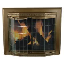 amazon com pleasant hearth gr 7200 grandoir fireplace glass door
