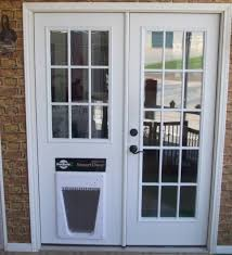 Patio Door With Pet Door Built In Doors Marvellous Door With Door Built In Awesome