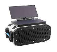 braven pro rugged bluetooth speaker w solar panel module or