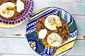 egg recipes for dinner indian spiced lentils with poached eggs bunsen burner bakery