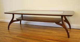 bassett coffee table picked vintage