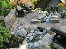 Backyard Stone Ideas by Patio Stone Ideas With Pictures U2013 Outdoor Ideas