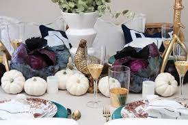 glam intimate thanksgiving table decor ideas and tablescapes