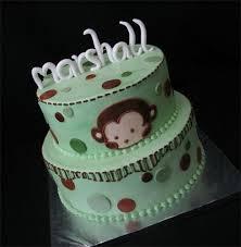 monkey baby shower cake 5 adorable baby shower cake ideas babyfavors
