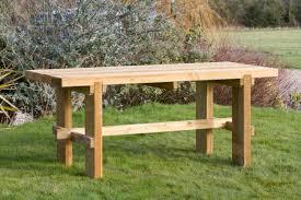 wooden garden table garden furniture land