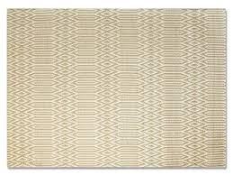 serengeti small yellow u0026 white tribal print rug buy at lucas
