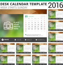 desk calendar template free vector download 14 040 free vector