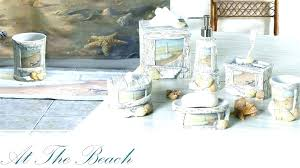 Inspirational Seashell Bathroom Accessories Seashell Bathroom