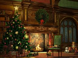 christmas wallpapers wallpaper cave