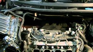 nissan versa spark plug replacement youtube