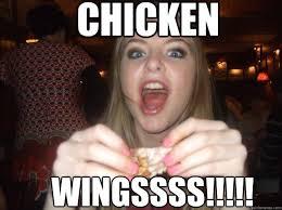 Chicken Wing Meme - chicken wingssss chicken wings quickmeme
