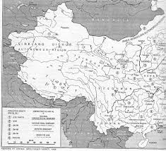 Map Of China And India by Map Of India Tibet China Mongolia 1959 Independent Indian Work