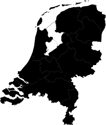 map netherlands free netherlands vector svg map or make it interactive
