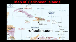 Caribbean Islands Map by Map Of Caribbean Islands Travel