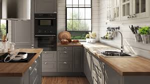 landhausküche grau küchenschrank ikea grau rheumri