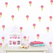 kids wall art decals shenra com aliexpress com buy diy ice cream wall stickers decals kids