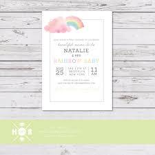 celebrity baby shower invitations rainbow baby shower ideas popsugar moms