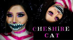 Pink Halloween Makeup by Cheshire Cat Maquillaje Para Halloween Halloween Makeup Youtube