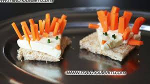 recette cuisine enfant recette apéritive à faire avec les enfants les toasts créatifs