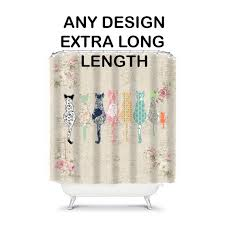 Curtains 80 Inches Long Best 25 Hookless Shower Curtain Ideas On Pinterest Hotel Shower
