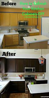 refinish kitchen cabinets ideas diy refinish kitchen cabinets enjoyable inspiration ideas 24