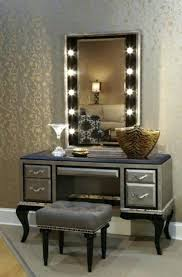 Bedroom Vanity Sets With Lighted Mirror Amazing Vanity Table With Lighted Mirror For Bedroom Vanity Sets