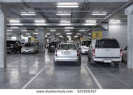 ikea parking lot bangkokthailand august 162016 parking space ikea stock photo