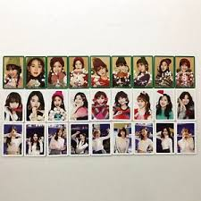 the 1st repackage album merry happy shaker photocard