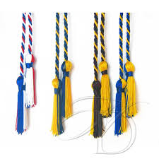 graduation honor cords single honor cords for graduation intertwined colors
